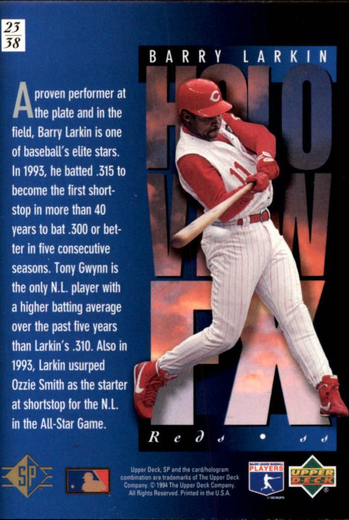 1994-SP-Holoviews-Baseball-1-38-Your-Choice-GOTBASEBALLCARDS thumbnail 37