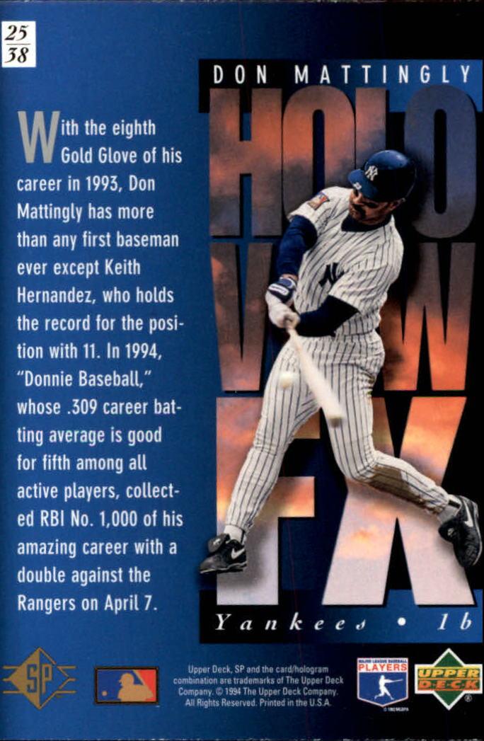 1994-SP-Holoviews-Baseball-1-38-Your-Choice-GOTBASEBALLCARDS thumbnail 41