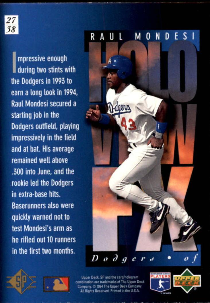 1994-SP-Holoviews-Baseball-1-38-Your-Choice-GOTBASEBALLCARDS thumbnail 45