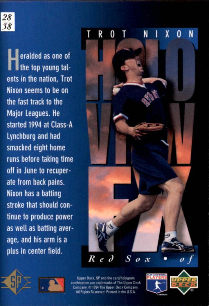 1994-SP-Holoviews-Baseball-1-38-Your-Choice-GOTBASEBALLCARDS thumbnail 47
