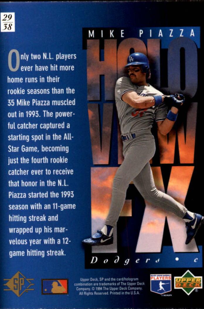 1994-SP-Holoviews-Baseball-1-38-Your-Choice-GOTBASEBALLCARDS thumbnail 49