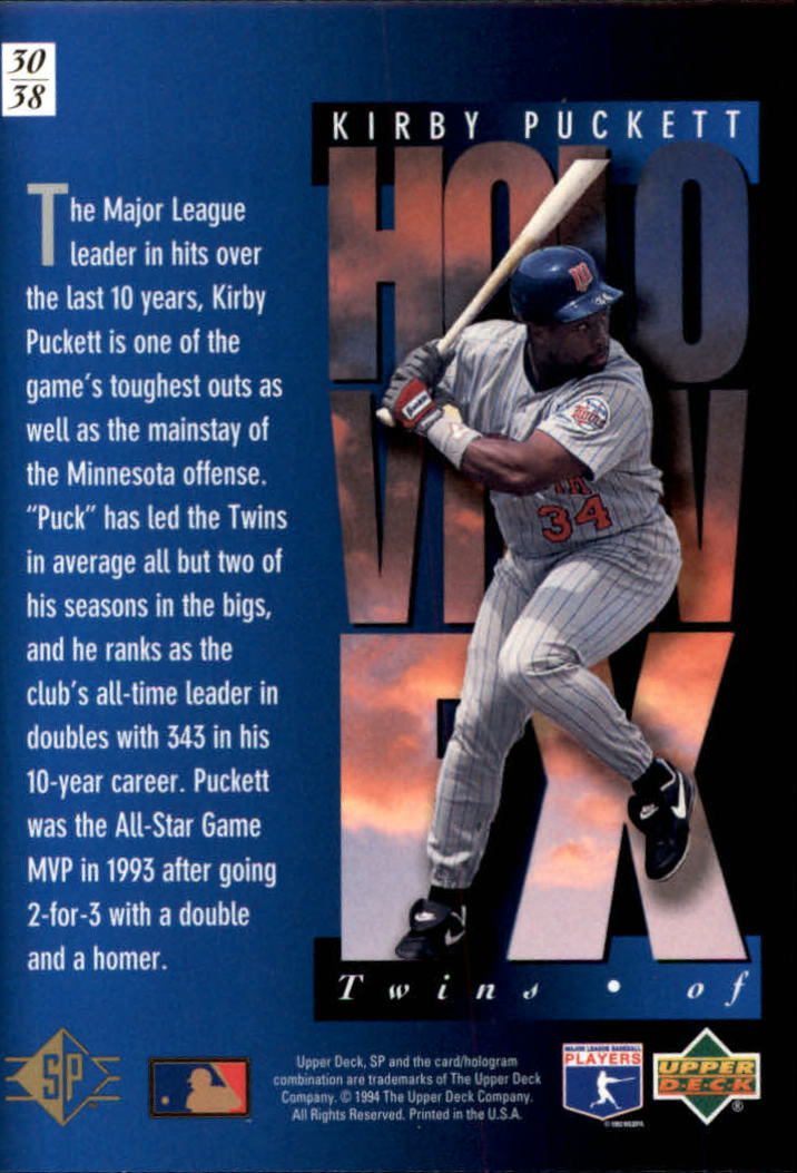 1994-SP-Holoviews-Baseball-1-38-Your-Choice-GOTBASEBALLCARDS thumbnail 51