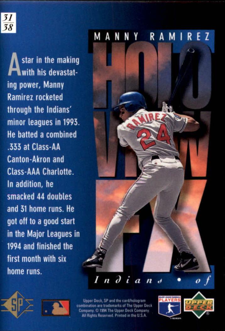 1994-SP-Holoviews-Baseball-1-38-Your-Choice-GOTBASEBALLCARDS thumbnail 53