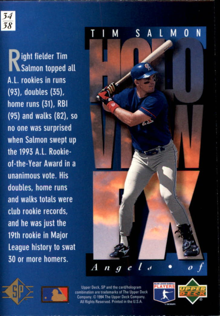 1994-SP-Holoviews-Baseball-1-38-Your-Choice-GOTBASEBALLCARDS thumbnail 57