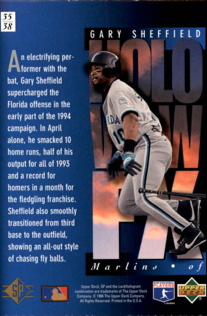 1994-SP-Holoviews-Baseball-1-38-Your-Choice-GOTBASEBALLCARDS thumbnail 59