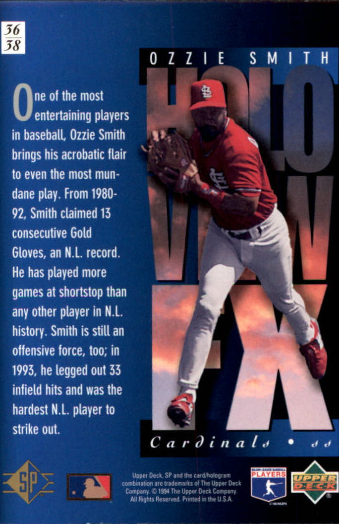 1994-SP-Holoviews-Baseball-1-38-Your-Choice-GOTBASEBALLCARDS thumbnail 61