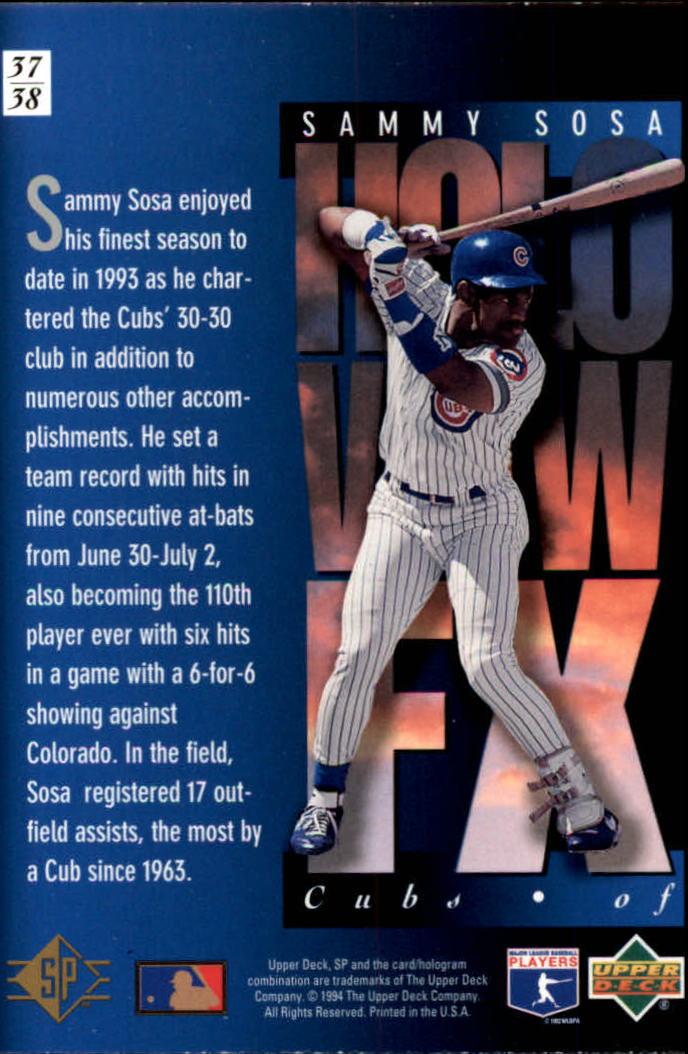 1994-SP-Holoviews-Baseball-1-38-Your-Choice-GOTBASEBALLCARDS thumbnail 63