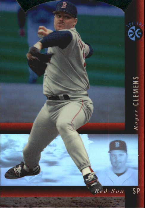 1994 SP Holoviews Die Cuts #5 Roger Clemens