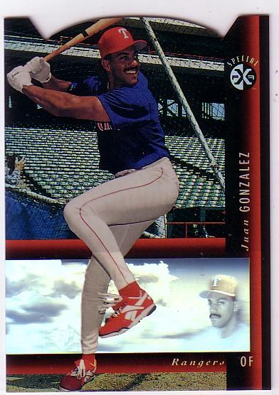 1994 SP Holoviews Die Cuts #11 Juan Gonzalez