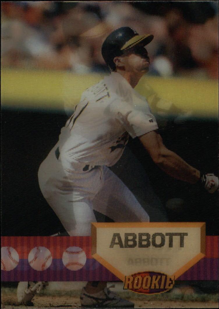 1994 Sportflics #153 Kurt Abbott RC