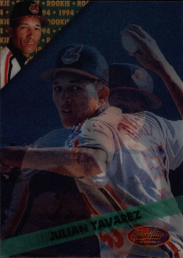1994 Sportflics Rookie/Traded #49 Julian Tavarez RC