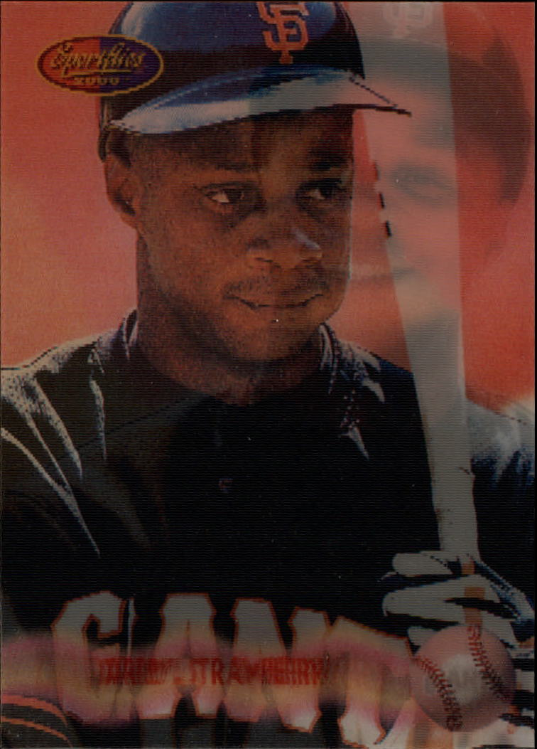 1994 Sportflics Rookie/Traded #149 Darryl Strawberry