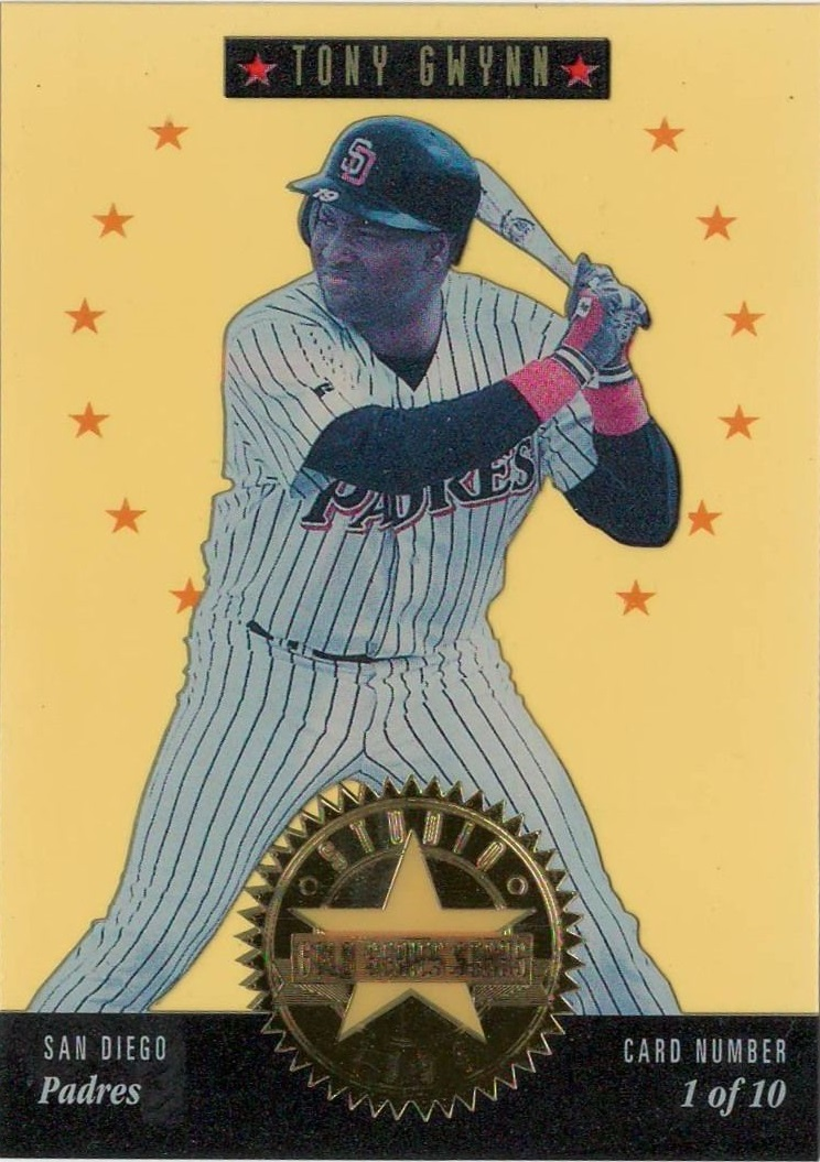 1994 Studio Series Stars Gold #1 Tony Gwynn