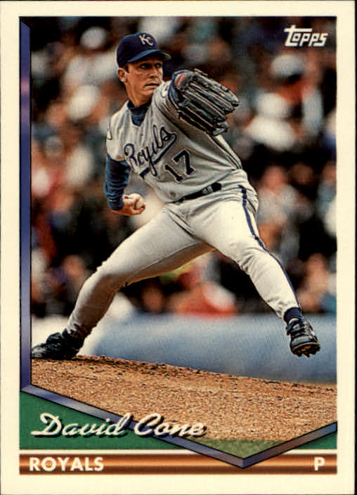 Details About 1994 Topps Baseball Card 510 David Cone