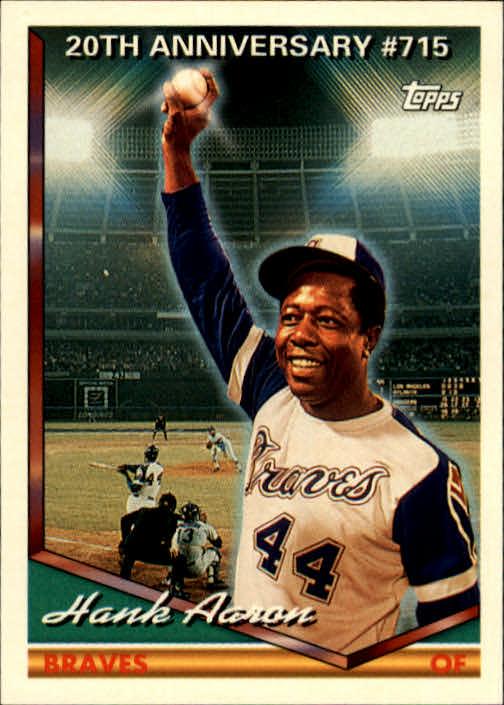 1994 Topps #715 Hank Aaron 715 HR