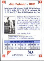 1994 Nabisco All-Star Autographs #2 Jim Palmer back image