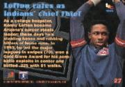 1994 Stadium Club Members Only 50 #27 Kenny Lofton back image