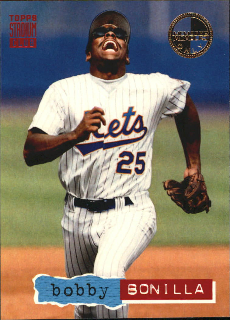 1994 Stadium Club Members Only Parallel #59 Bobby Bonilla