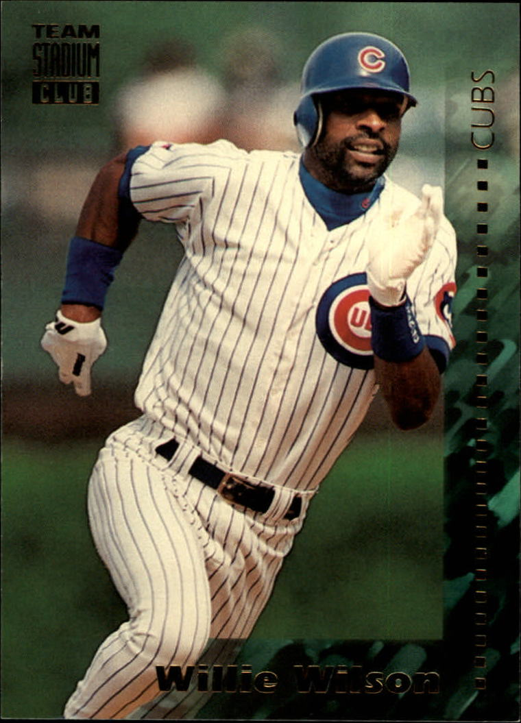 1994 Stadium Club Team #357 Willie Wilson