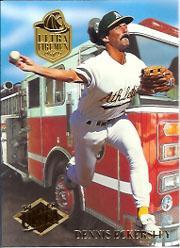 1994 Ultra Firemen #5 Dennis Eckersley