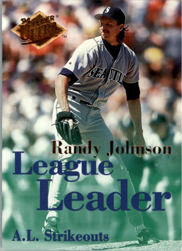 1994 Ultra League Leaders #5 Randy Johnson