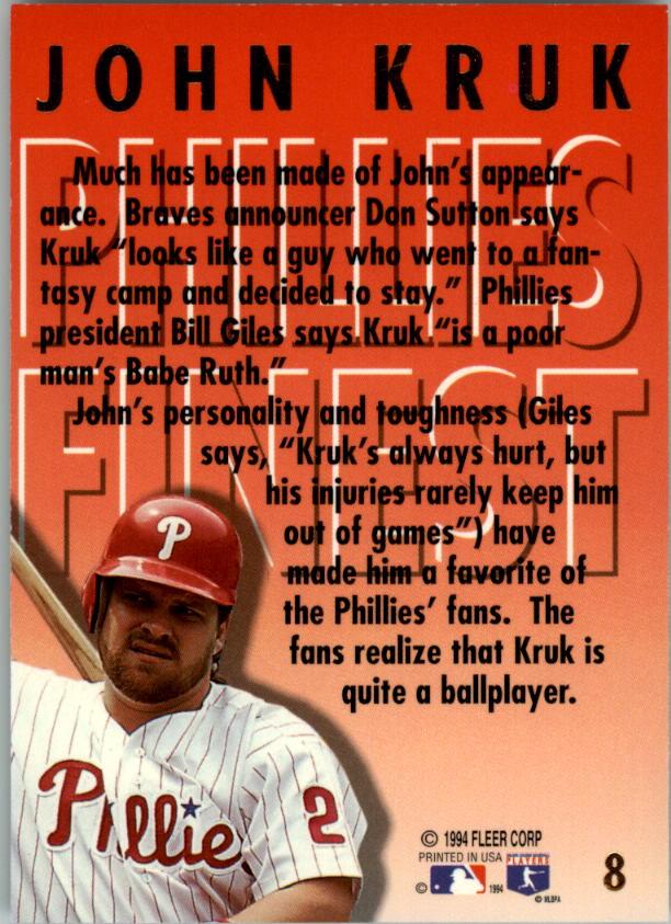 1994-Ultra-Phillies-Finest-Baseball-1-20-Your-Choice-GOTBASEBALLCARDS thumbnail 17