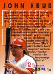 1994-Ultra-Phillies-Finest-Baseball-1-20-Your-Choice-GOTBASEBALLCARDS thumbnail 32