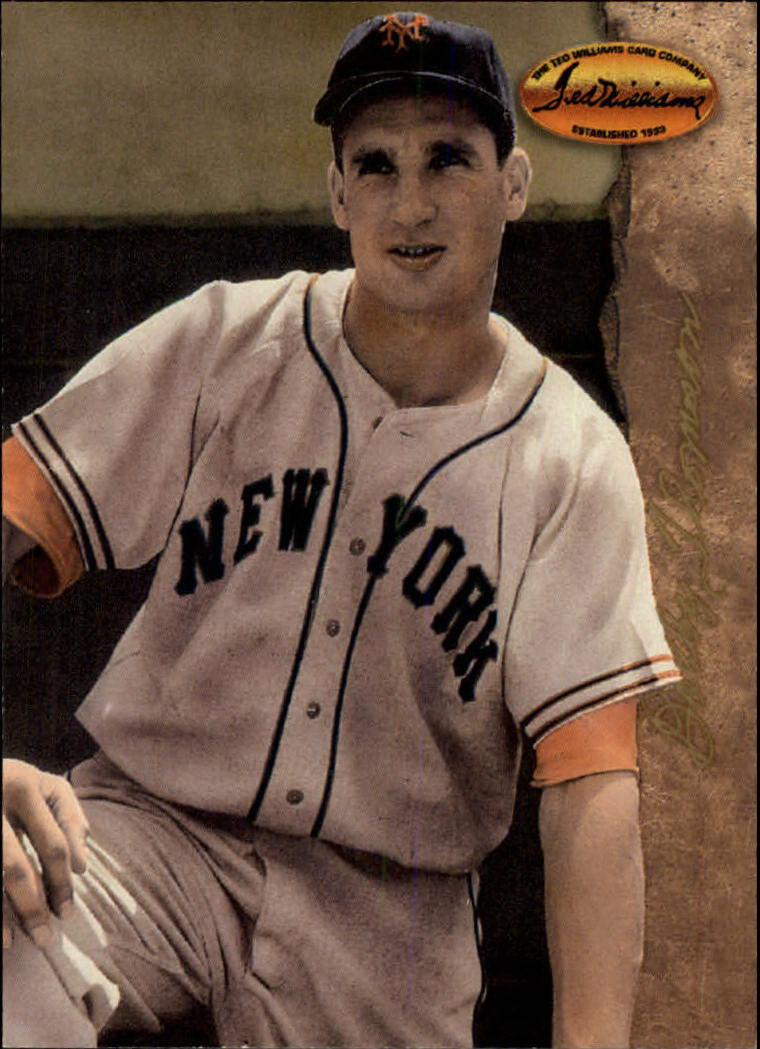 1994 Ted Williams #56 Bobby Thomson