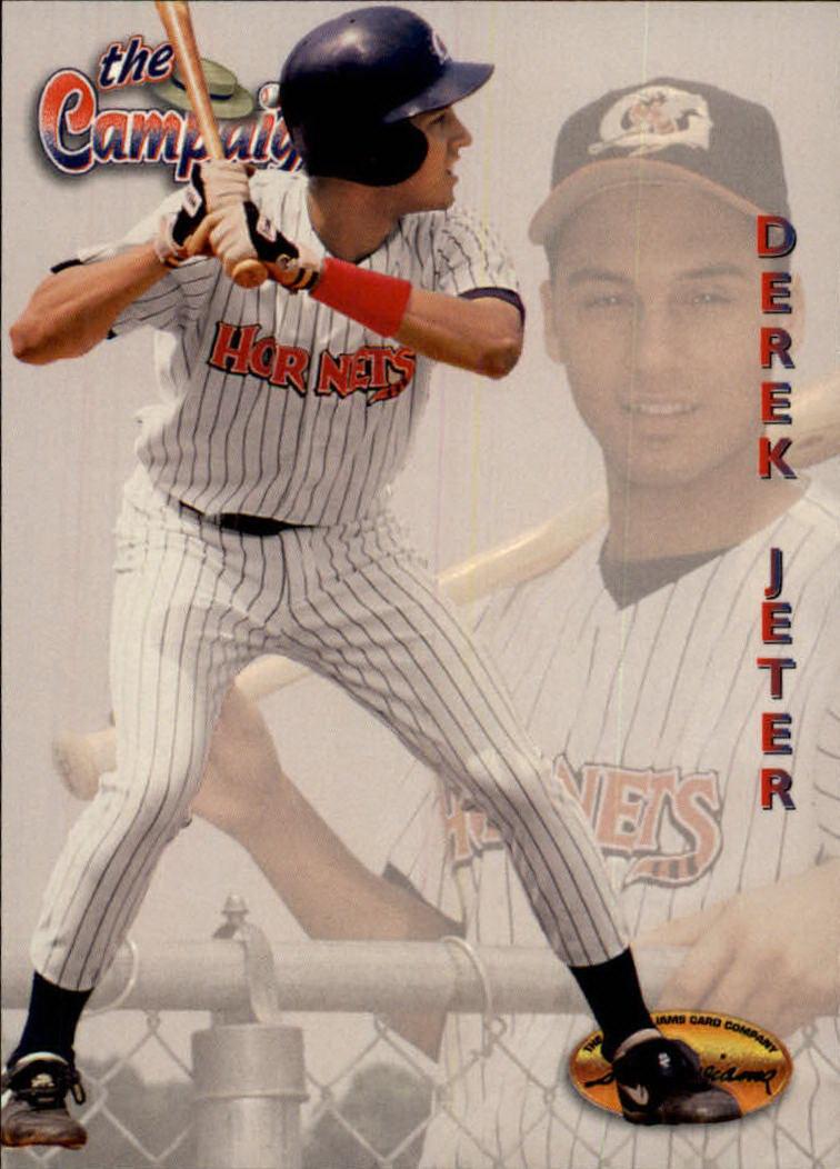 1994 Ted Williams #124 Derek Jeter