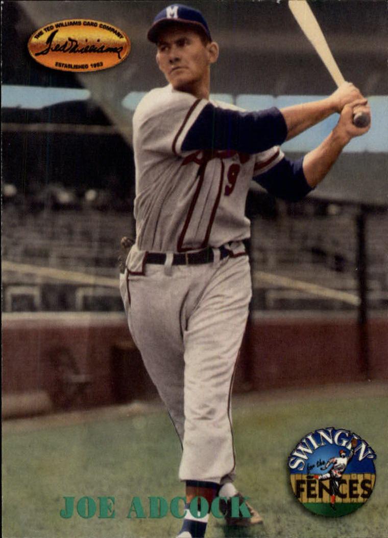 1994 Ted Williams #145 Joe Adcock
