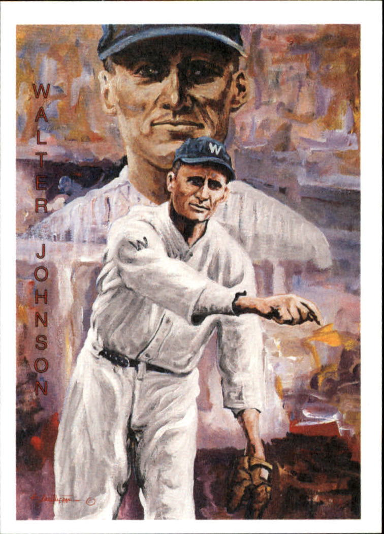 1994 Ted Williams Locklear Collection #LC15 Walter Johnson