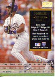 1994 Donruss Special Edition #59 Greg Vaughn back image