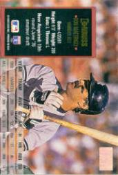 1994 Donruss Special Edition #60 Don Mattingly back image
