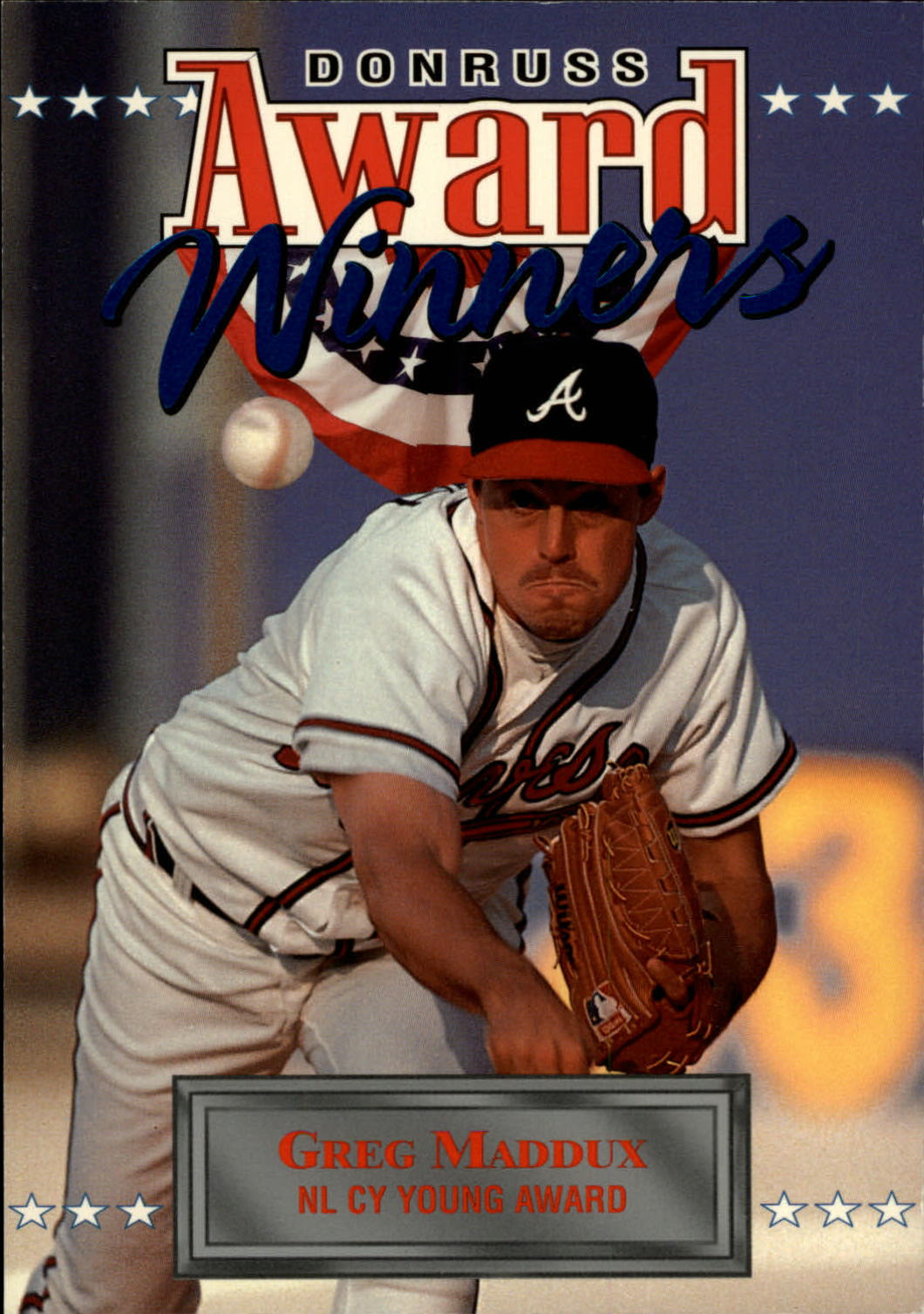 1994 Donruss Award Winner Jumbos #2 Greg Maddux