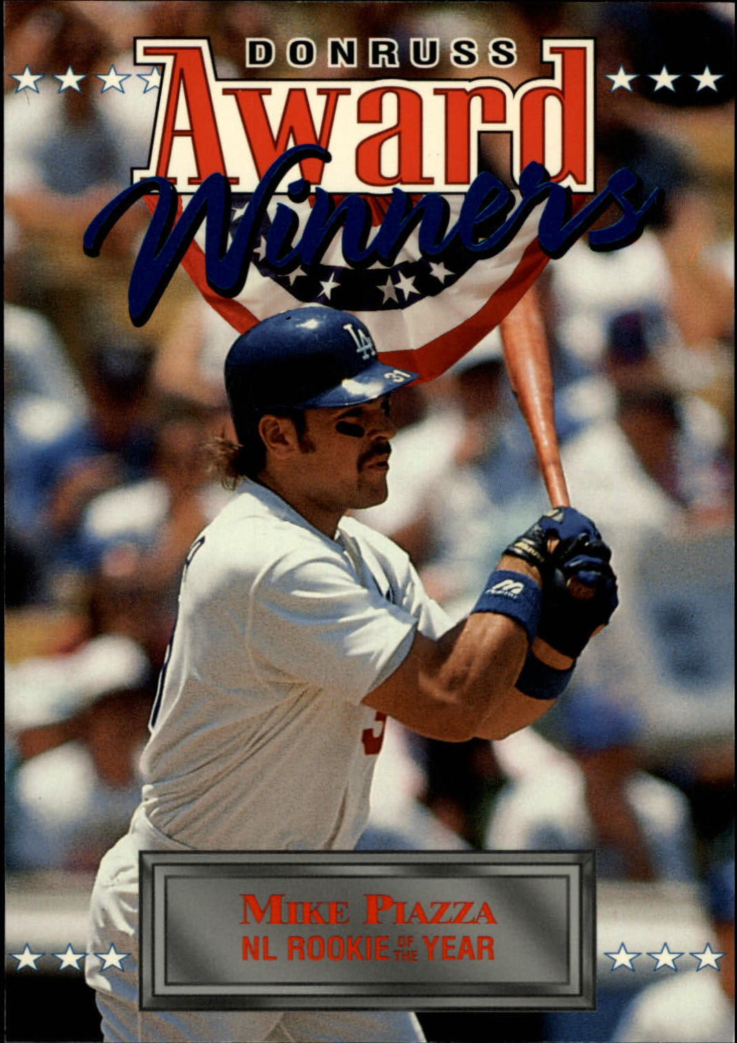 1994 Donruss Award Winner Jumbos #3 Mike Piazza