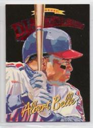 1994 Donruss Diamond Kings Jumbo #DK8 Albert Belle