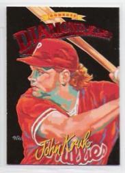 1994 Donruss Diamond Kings Jumbo #DK9 John Kruk