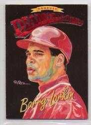 1994 Donruss Diamond Kings Jumbo #DK17 Barry Larkin