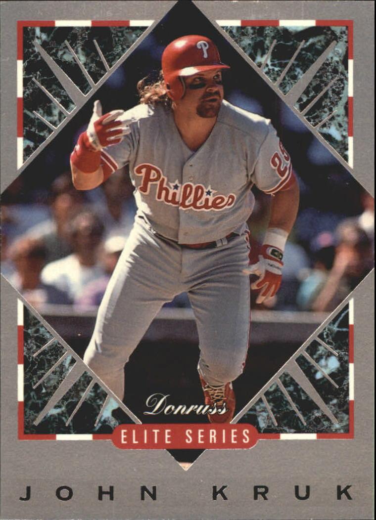 1994 Donruss Elite #41 John Kruk