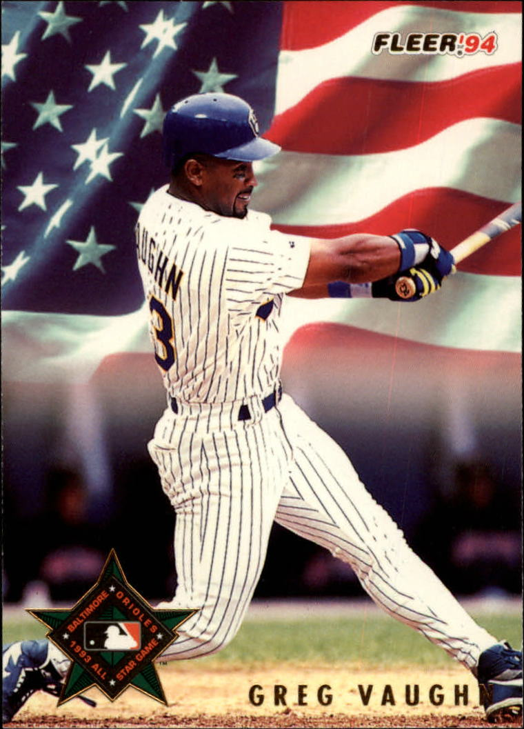 1994 Fleer All-Stars #24 Greg Vaughn