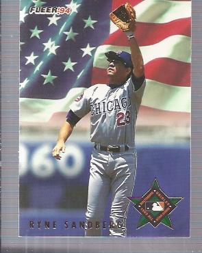 1994 Fleer All-Stars #48 Ryne Sandberg