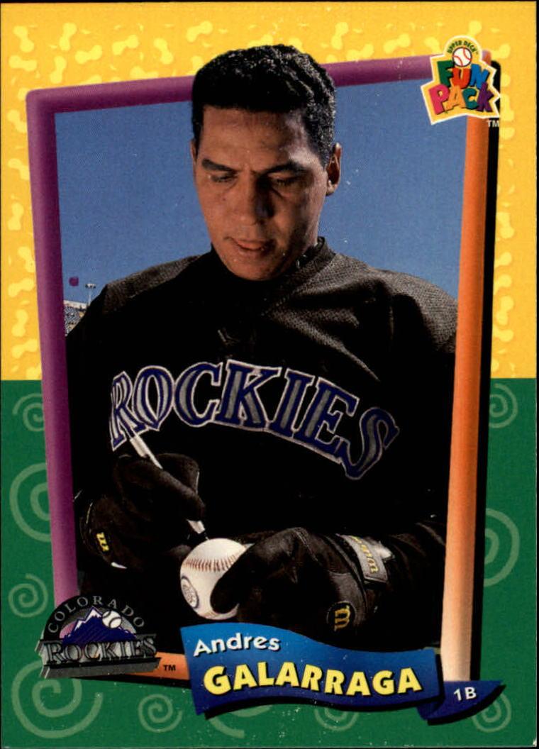 1994 Fun Pack #14 Andres Galarraga