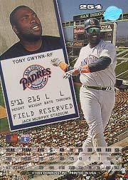 1994 Leaf #254 Tony Gwynn back image