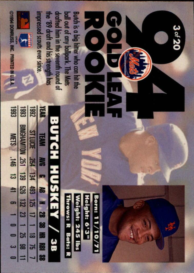 1994-Leaf-Gold-Rookies-Baseball-1-20-Your-Choice-GOTBASEBALLCARDS thumbnail 7