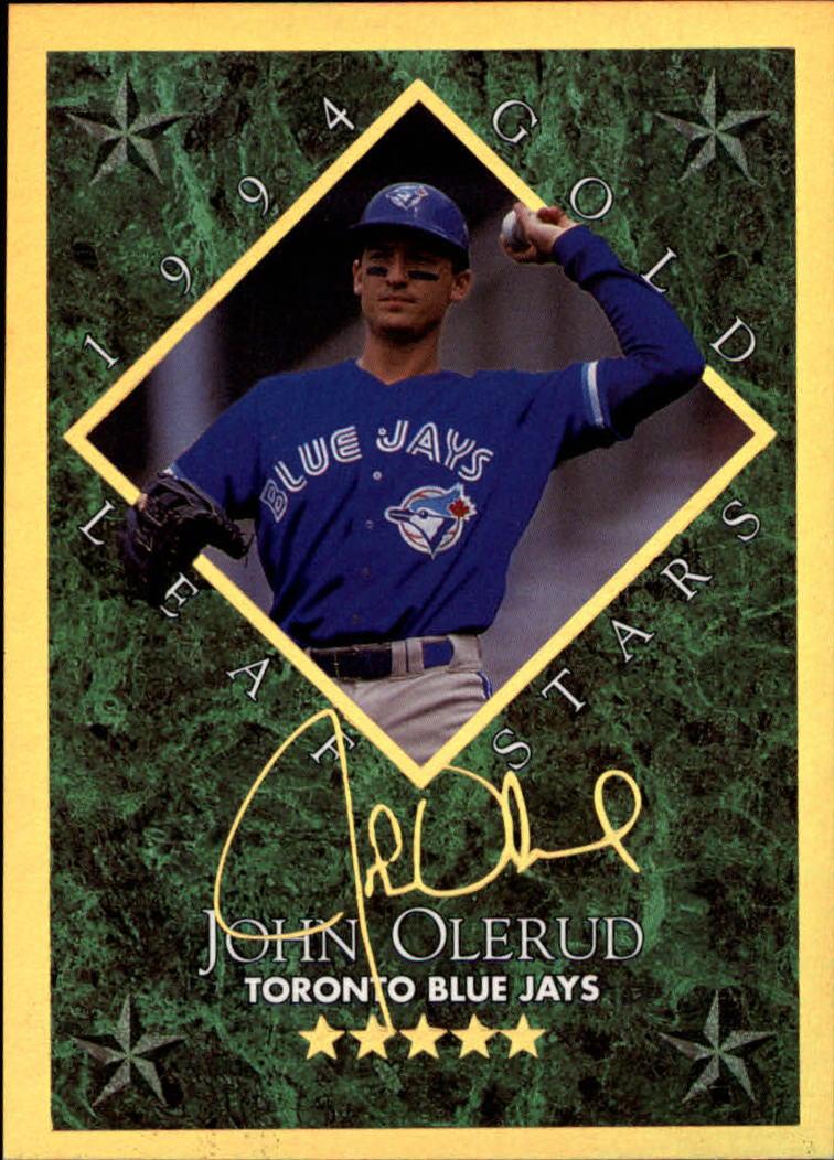 1994 Leaf Gold Stars #12 John Olerud