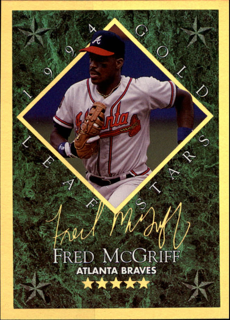 1994 Leaf Gold Stars #14 Fred McGriff