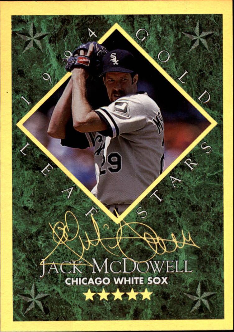 1994 Leaf Gold Stars #15 Jack McDowell