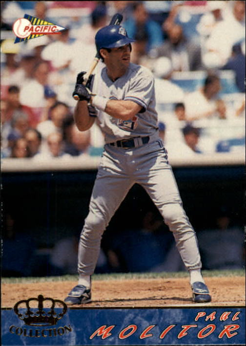1994 Pacific #648 Paul Molitor