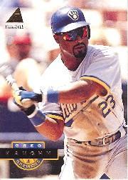 1994 Pinnacle #37 Greg Vaughn
