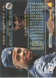 1994 Pinnacle #100 Ken Griffey Jr. back image
